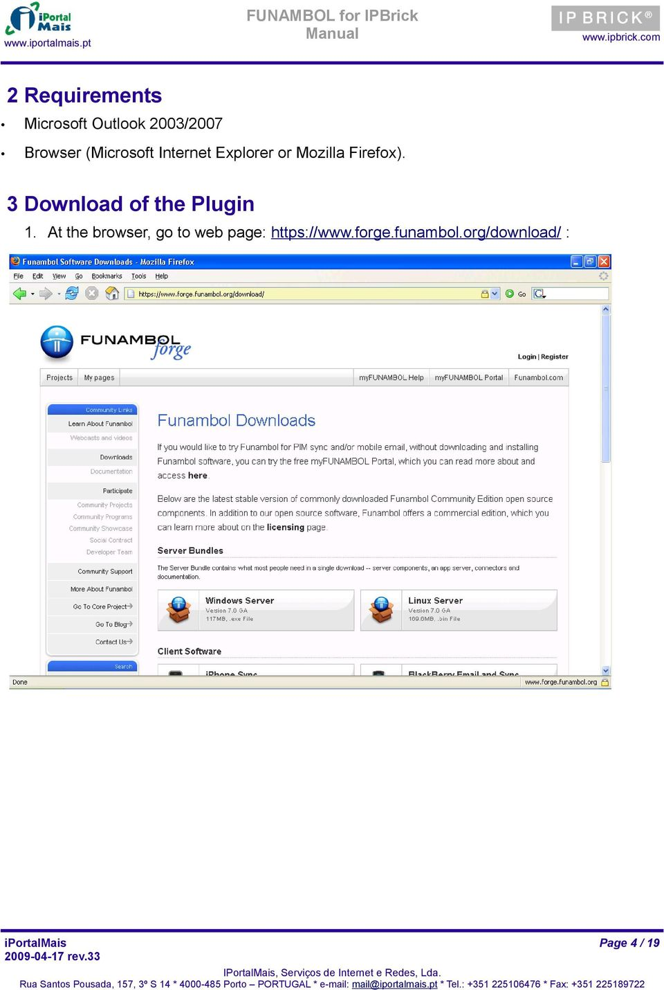 3 Download of the Plugin 1.