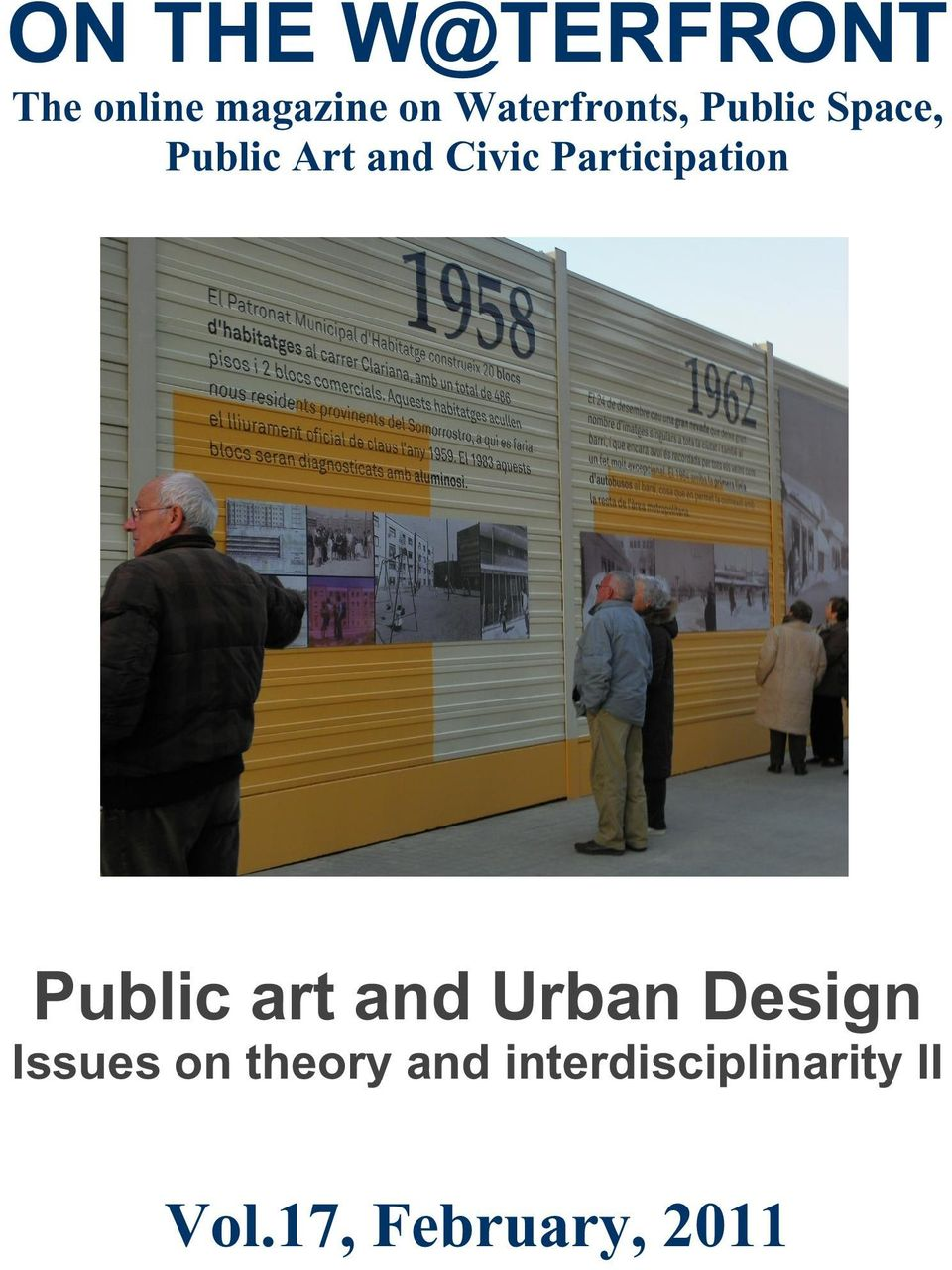 Participation Public art and Urban Design Issues