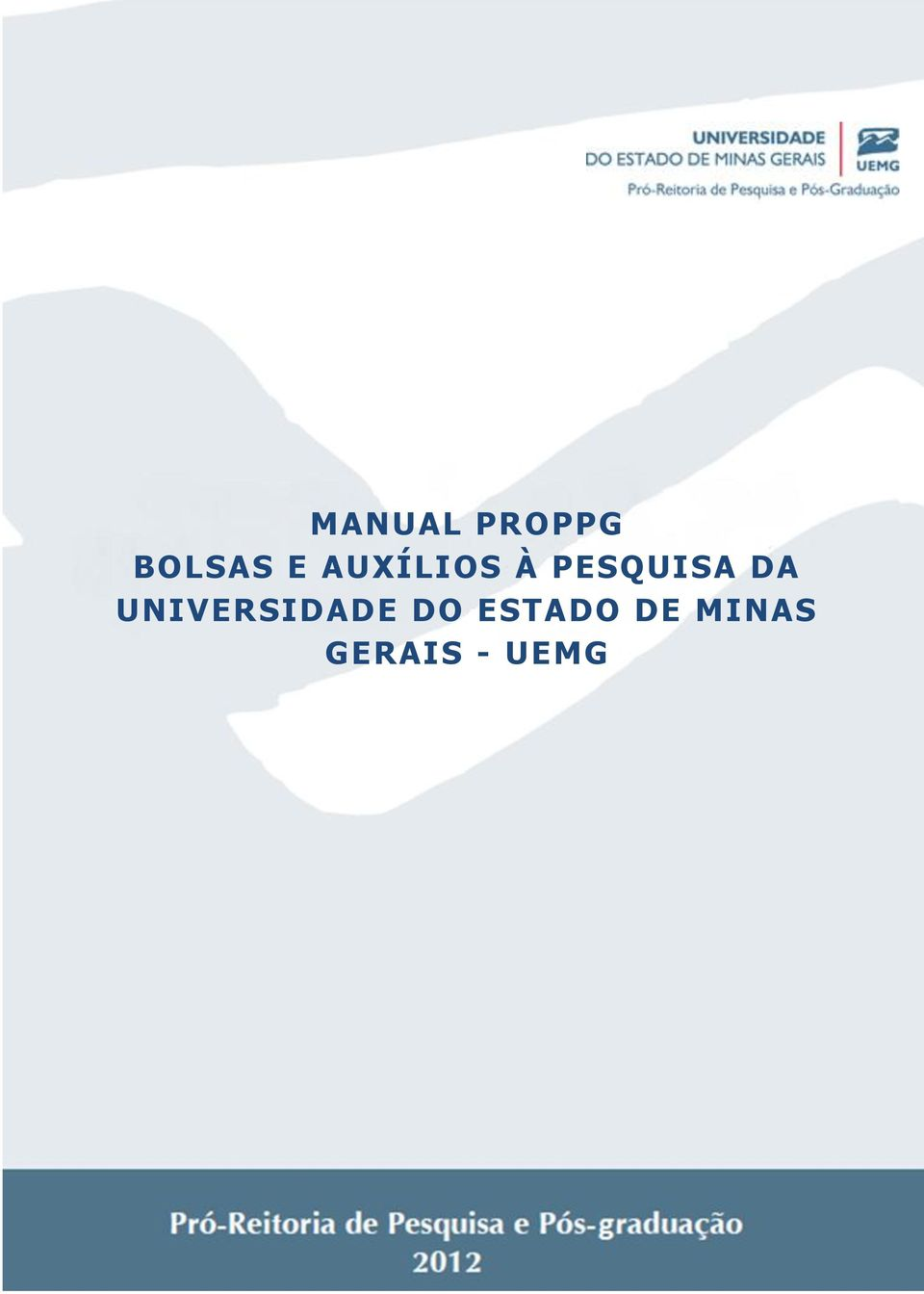 UNIVERSIDADE DO ESTADO