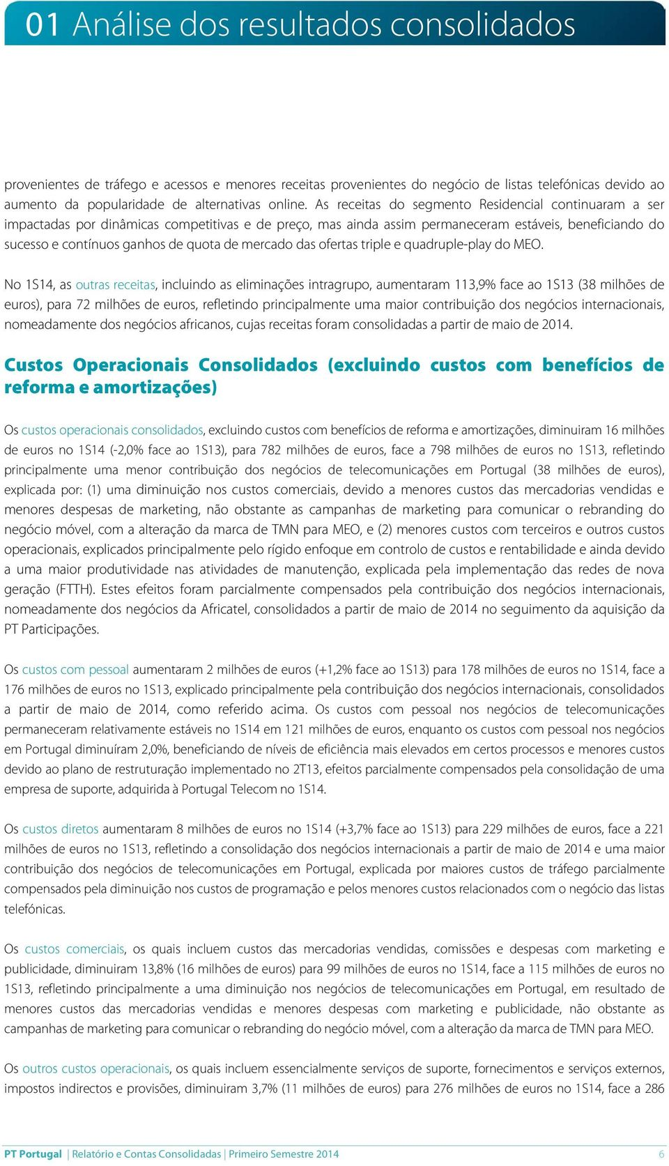mercado das ofertas triple e quadruple-play do MEO.