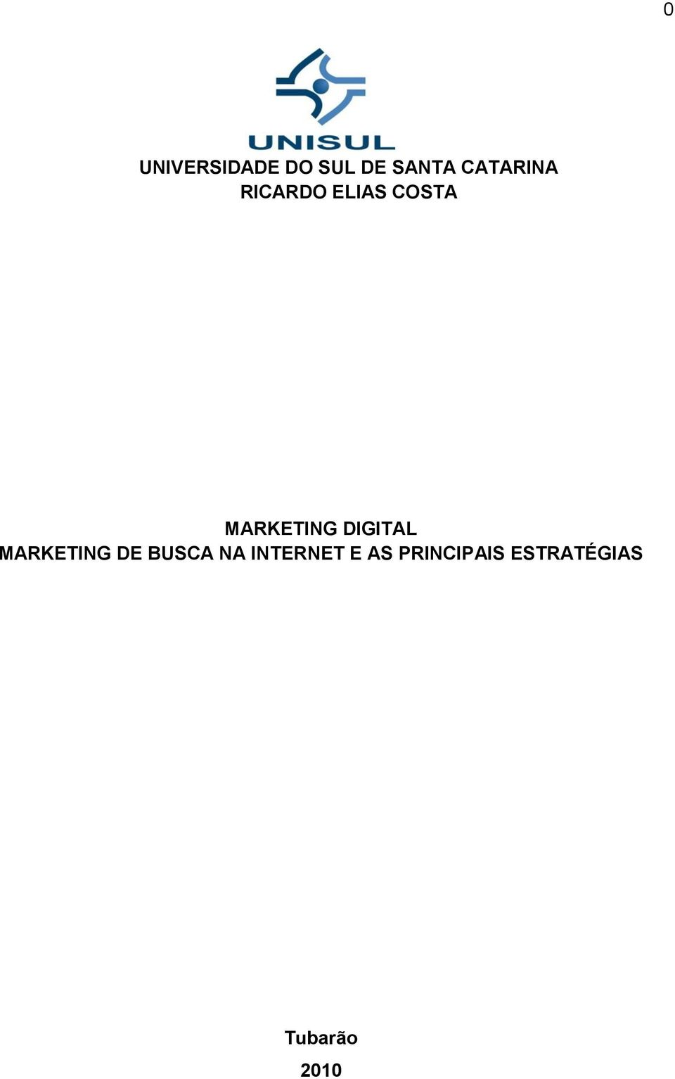 MARKETING DIGITAL MARKETING DE BUSCA