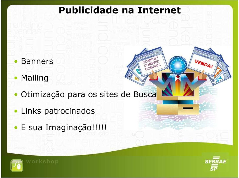 para os sites de Busca Links