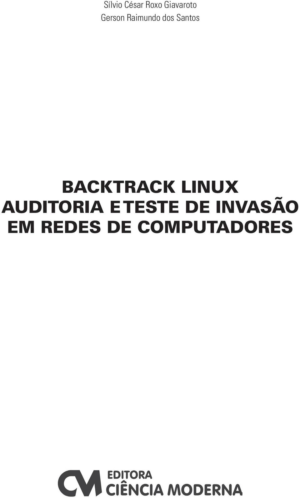 BACKTRACK LINUX AUDITORIA E