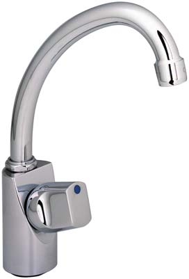 wall tap w/swivel spout manípulo euroliva azul/euroliva blue handle - ref.
