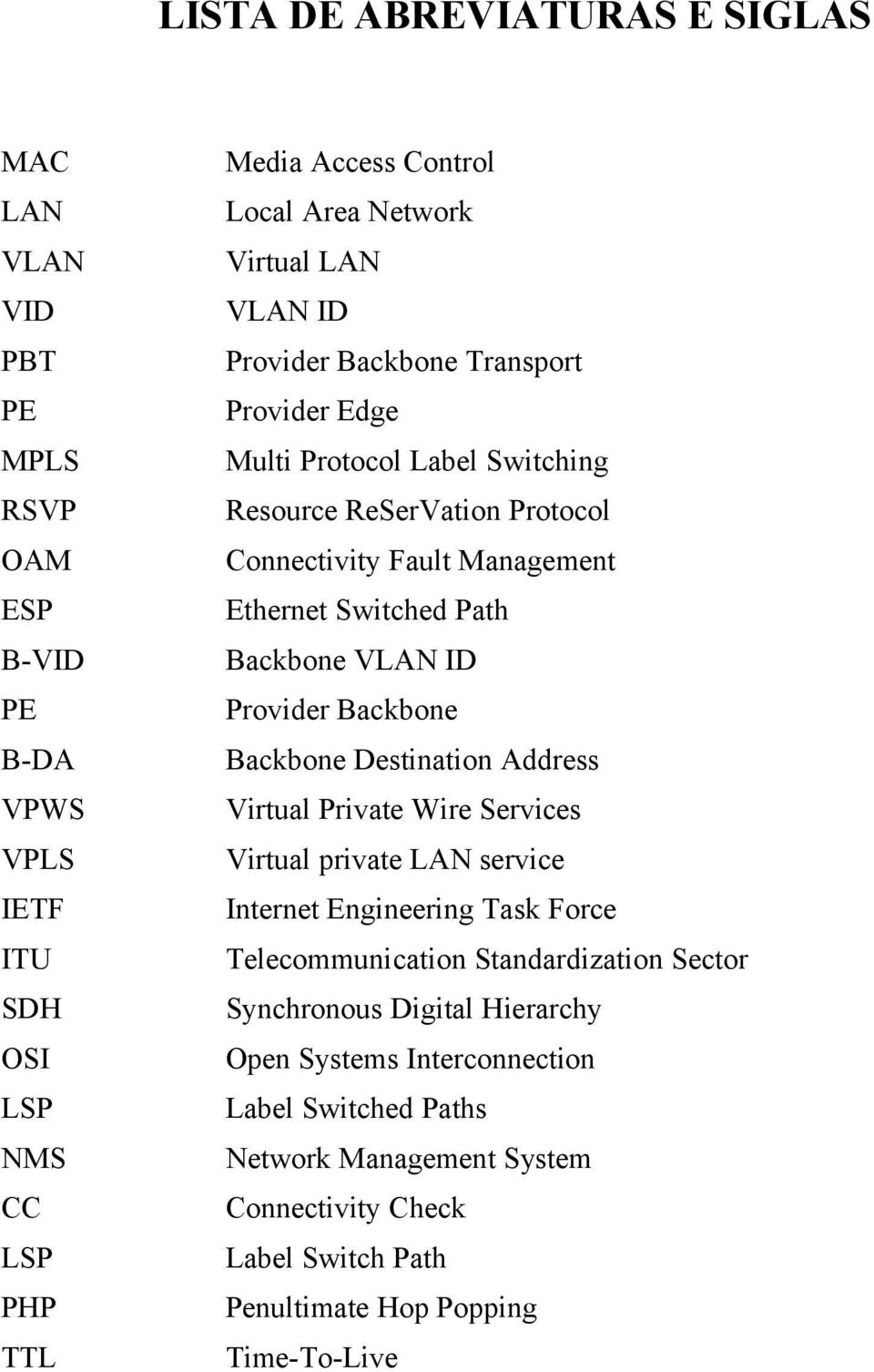 Backbone VLAN ID Provider Backbone Backbone Destination Address Virtual Private Wire Services Virtual private LAN service Internet Engineering Task Force Telecommunication