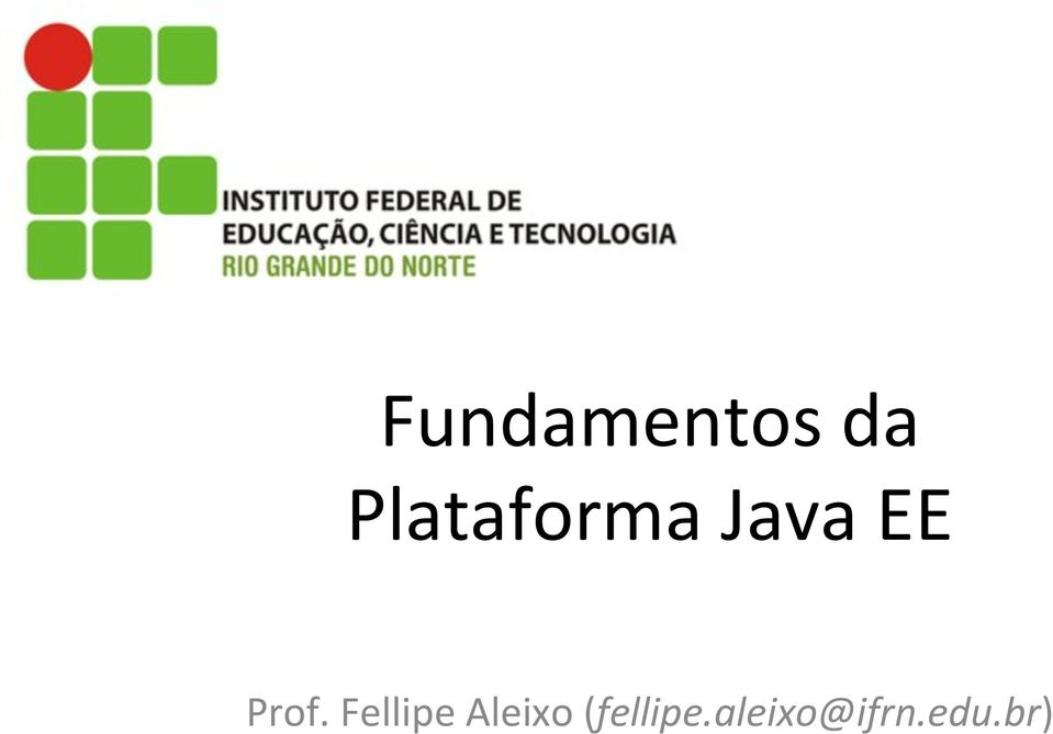Prof. Fellipe Aleixo