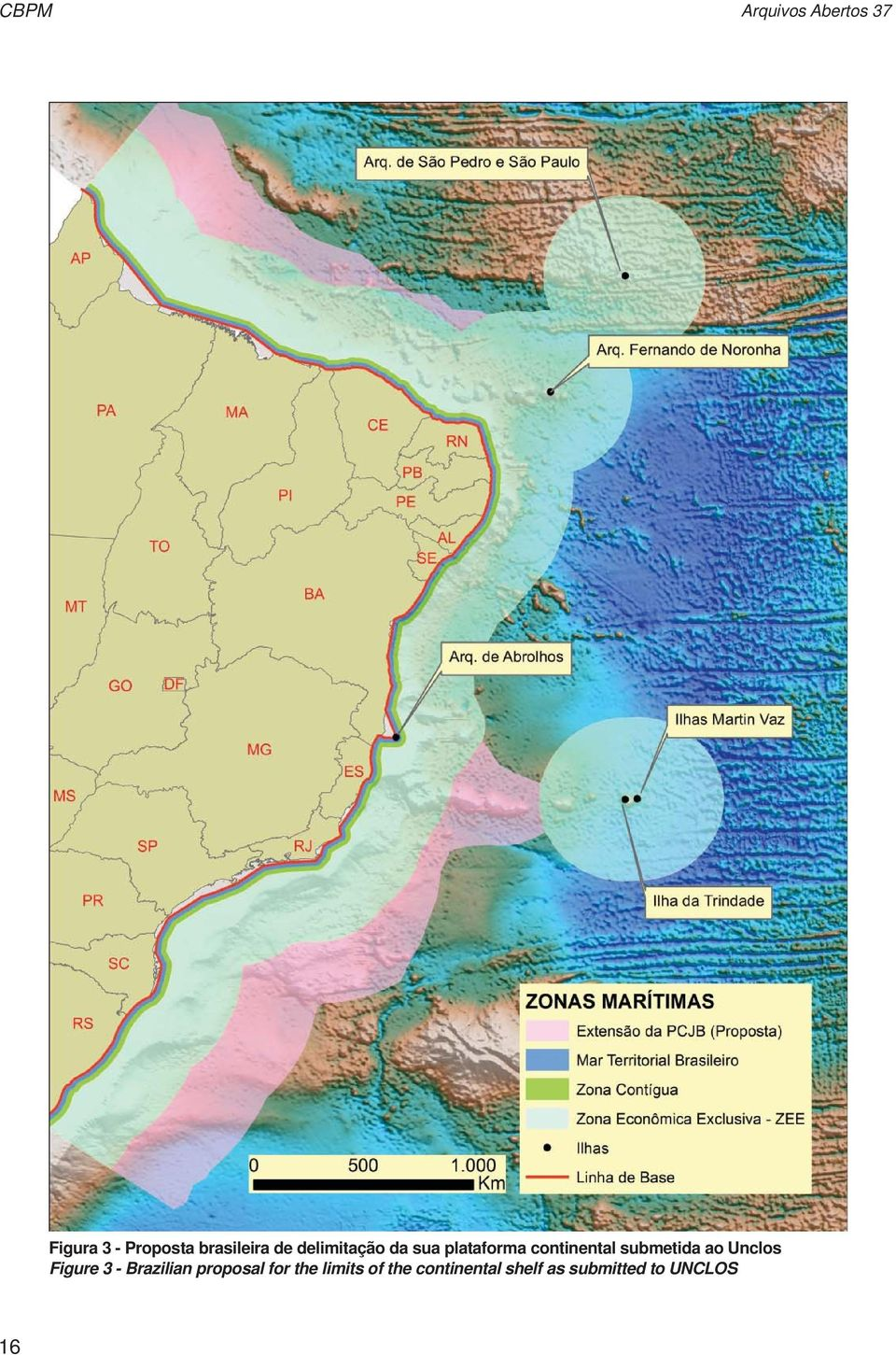 continental submetida ao Unclos Figure 3 - Brazilian
