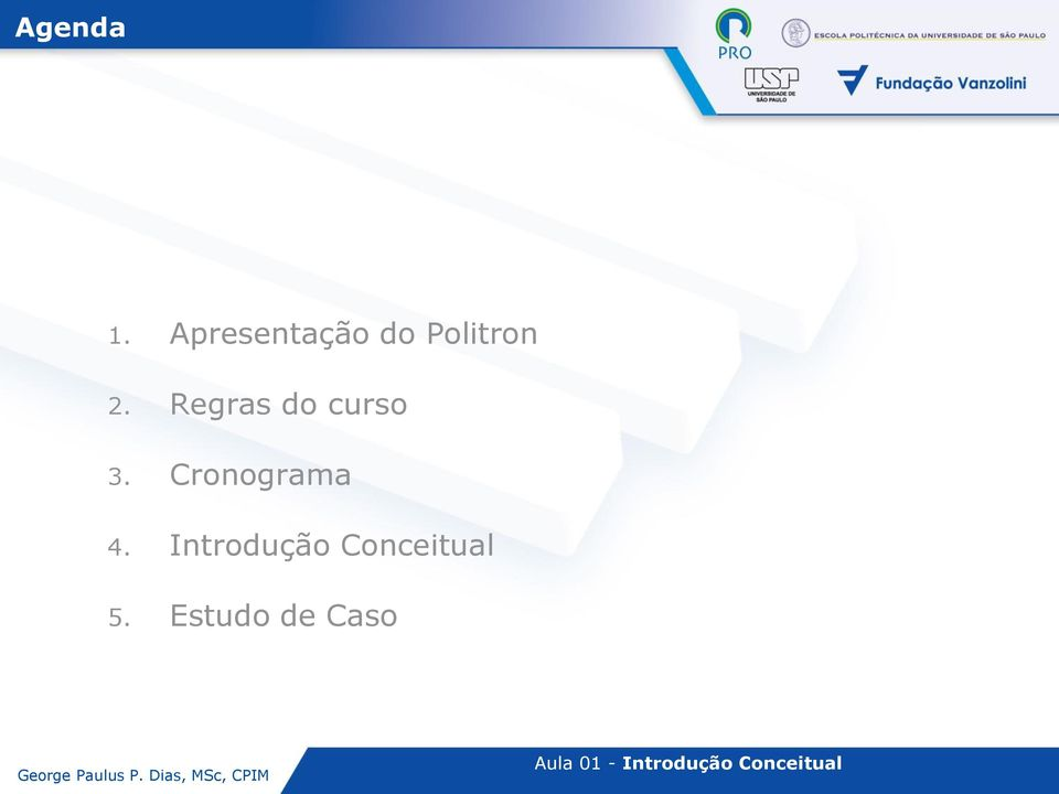 Regras do curso 3.
