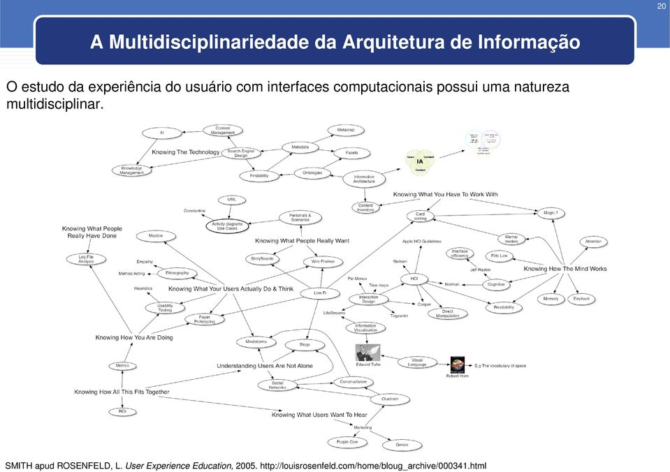 natureza multidisciplinar. SMITH apud ROSENFELD, L.
