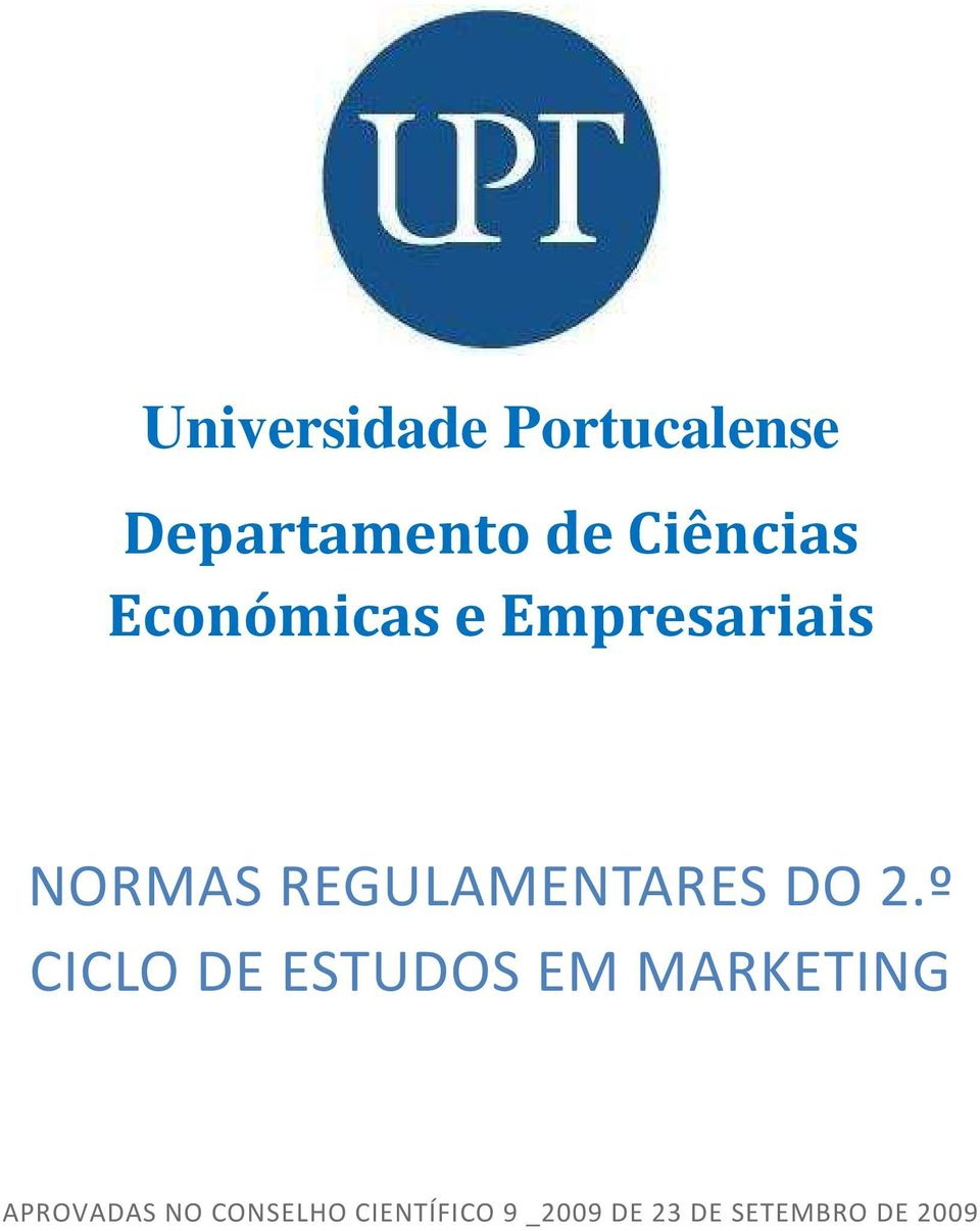 2.º CICLO DE ESTUDOS EM MARKETING APROVADAS NO
