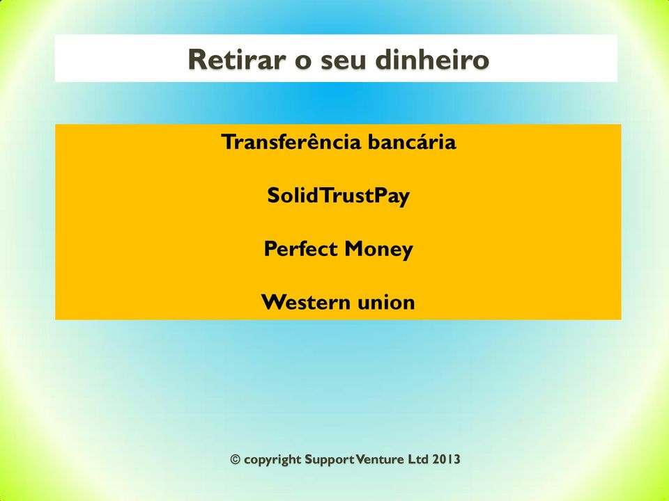 SolidTrustPay Perfect Money