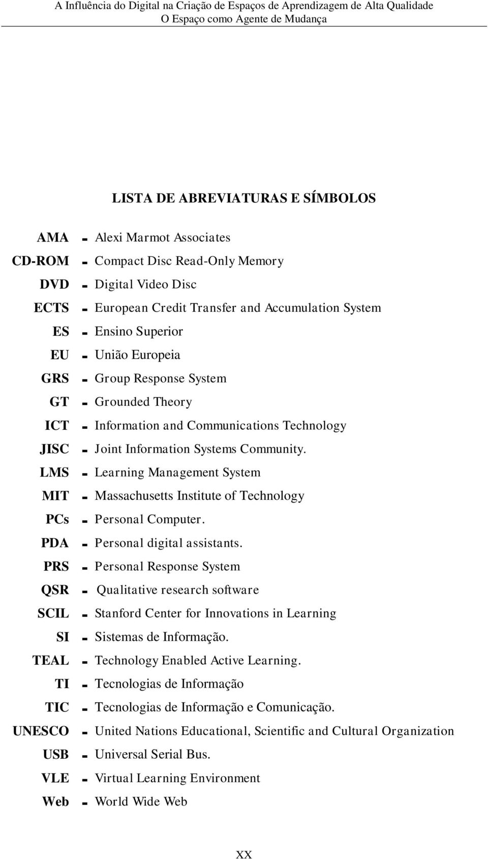 LMS - Learning Management System MIT - Massachusetts Institute of Technology PCs - Personal Computer. PDA - Personal digital assistants.