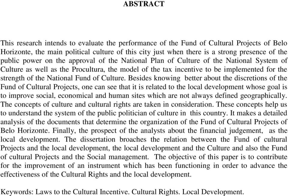 National Fund of Culture.