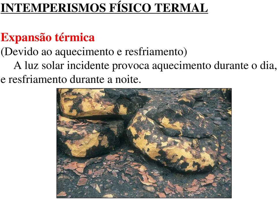 resfriamento) A luz solar incidente