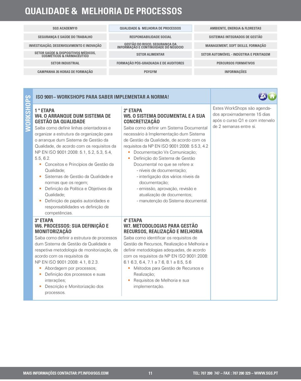 requisitos da NP EN ISO 9001:20