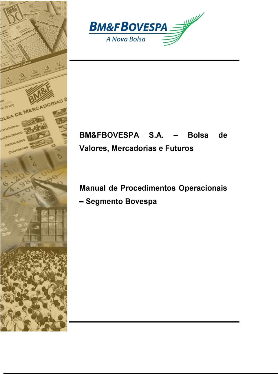 Mercadorias e Futuros Manual