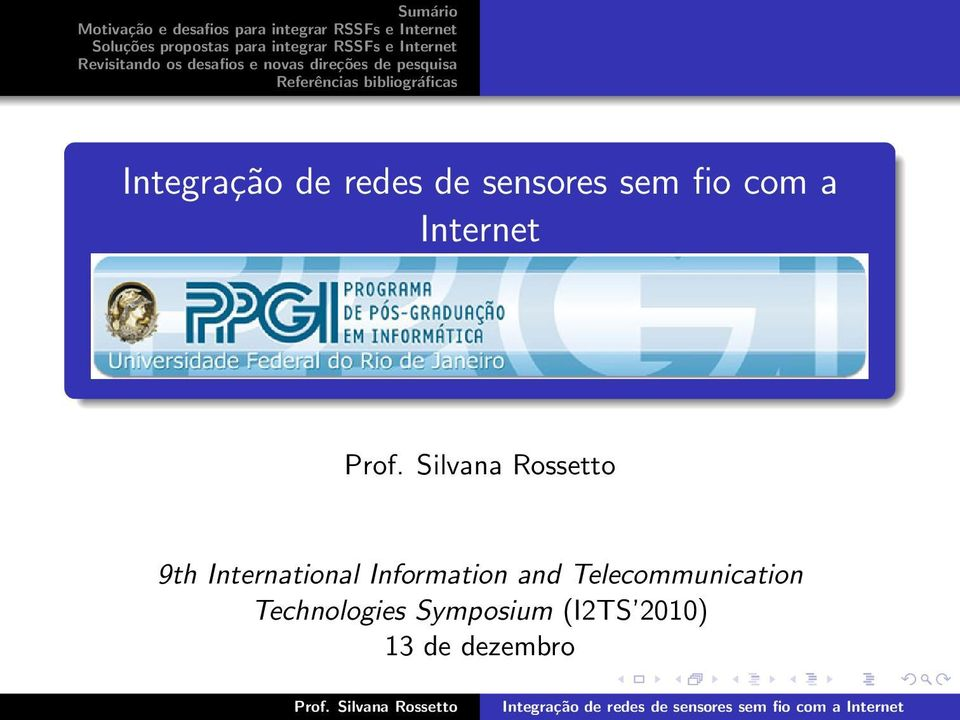 Information and Telecommunication