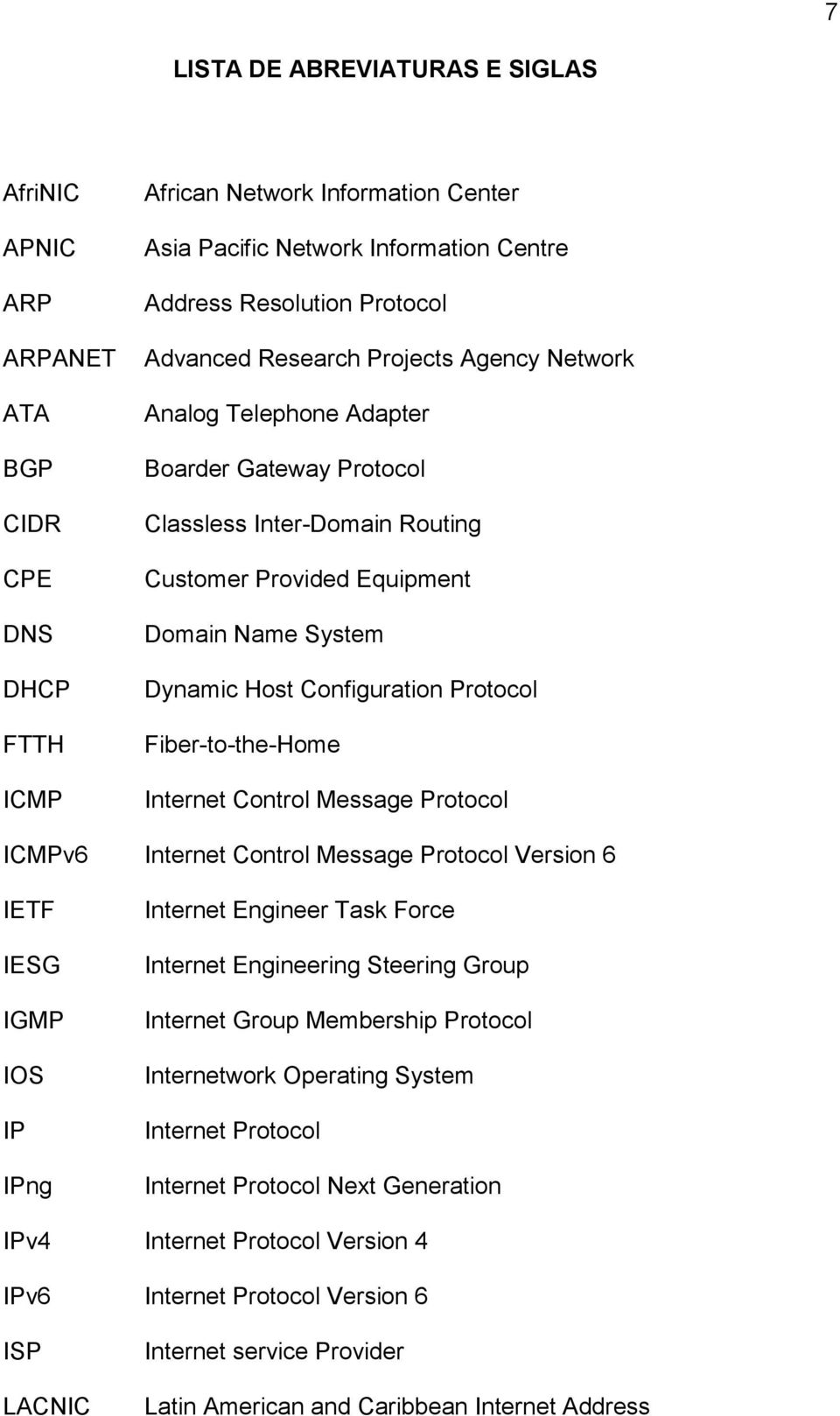 Protocol Fiber-to-the-Home Internet Control Message Protocol ICMPv6 Internet Control Message Protocol Version 6 IETF IESG IGMP IOS IP IPng Internet Engineer Task Force Internet Engineering Steering