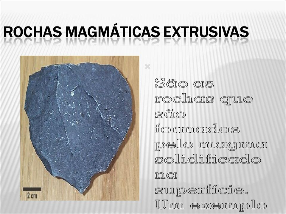 magma solidificado