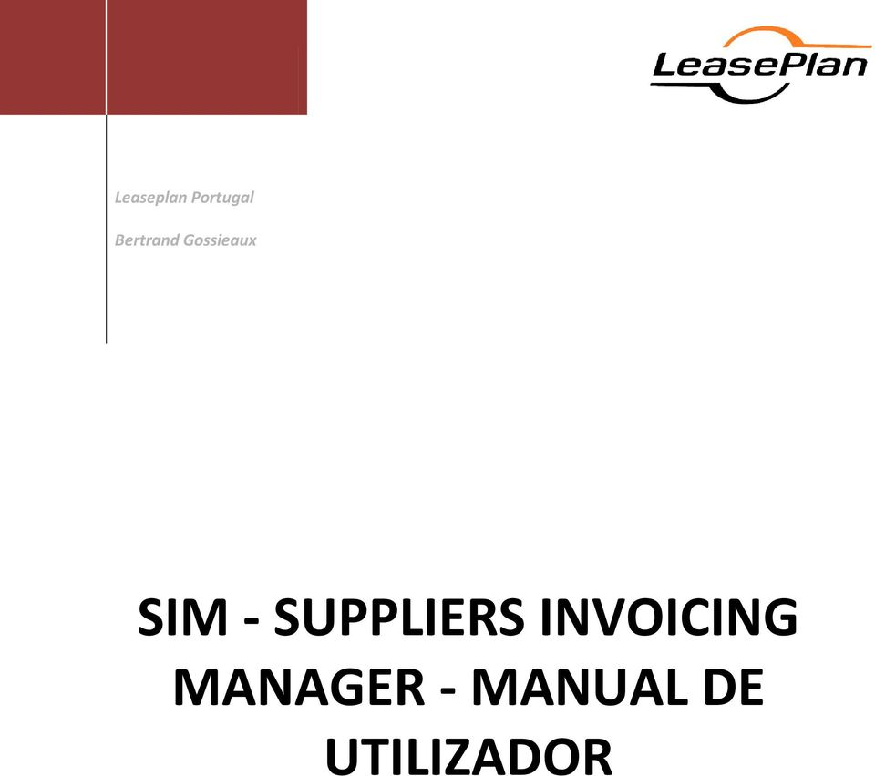 - SUPPLIERS INVOICING