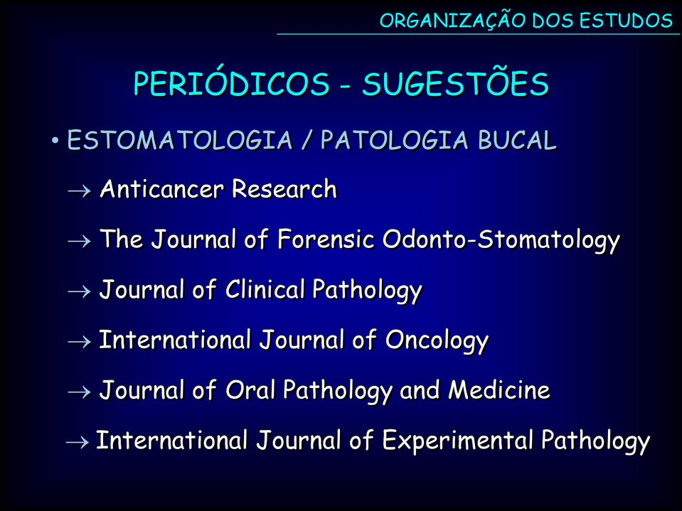 Clinical Pathology International Journal of Oncology Journal of