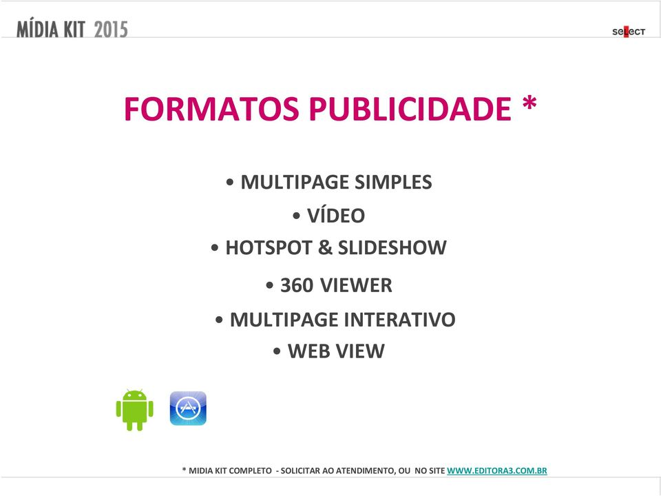 INTERATIVO WEB VIEW * MIDIA KIT COMPLETO -