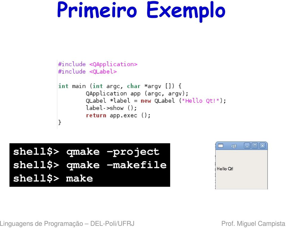 project  makefile