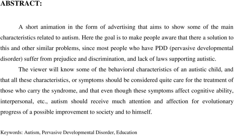 discrimination, and lack of laws supporting autistic.