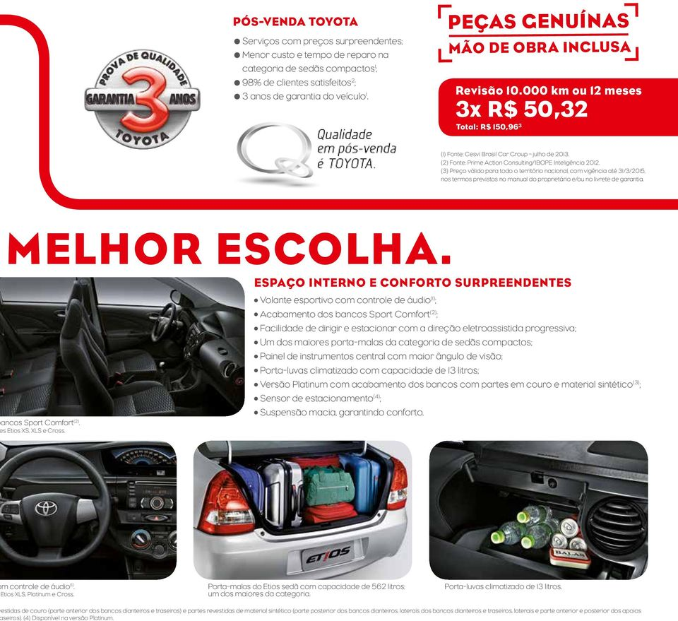 (2) Fonte: Prime Action Consulting/IBOPE Inteligência 2012.