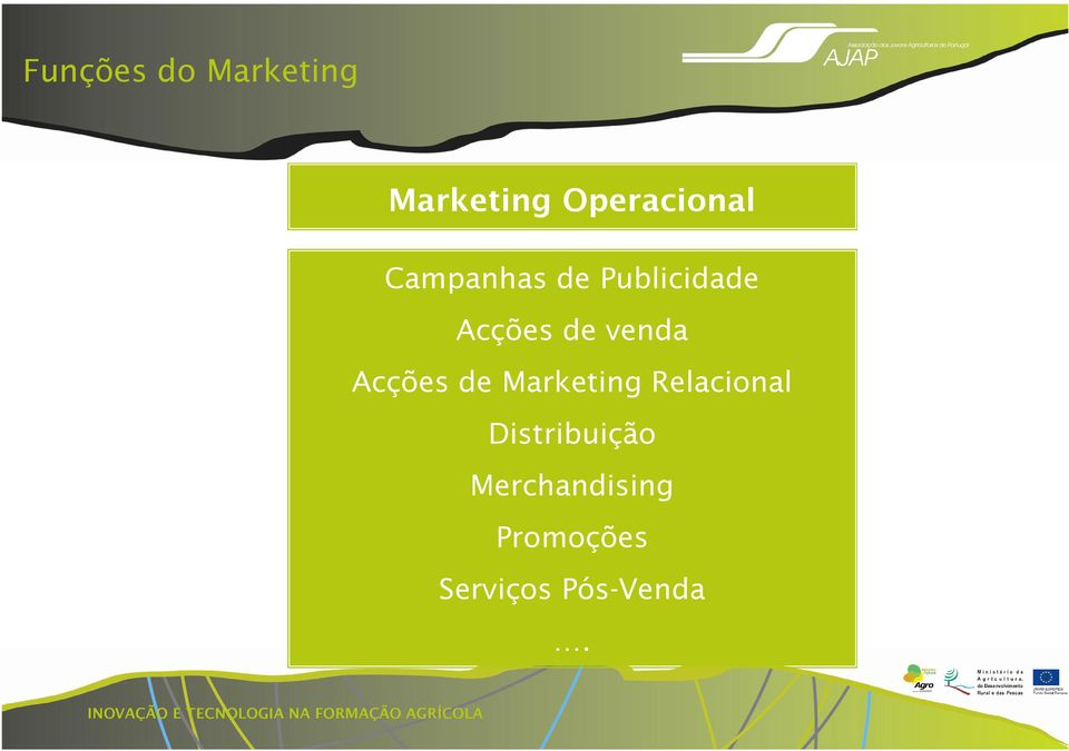 Acções de Marketing Relacional