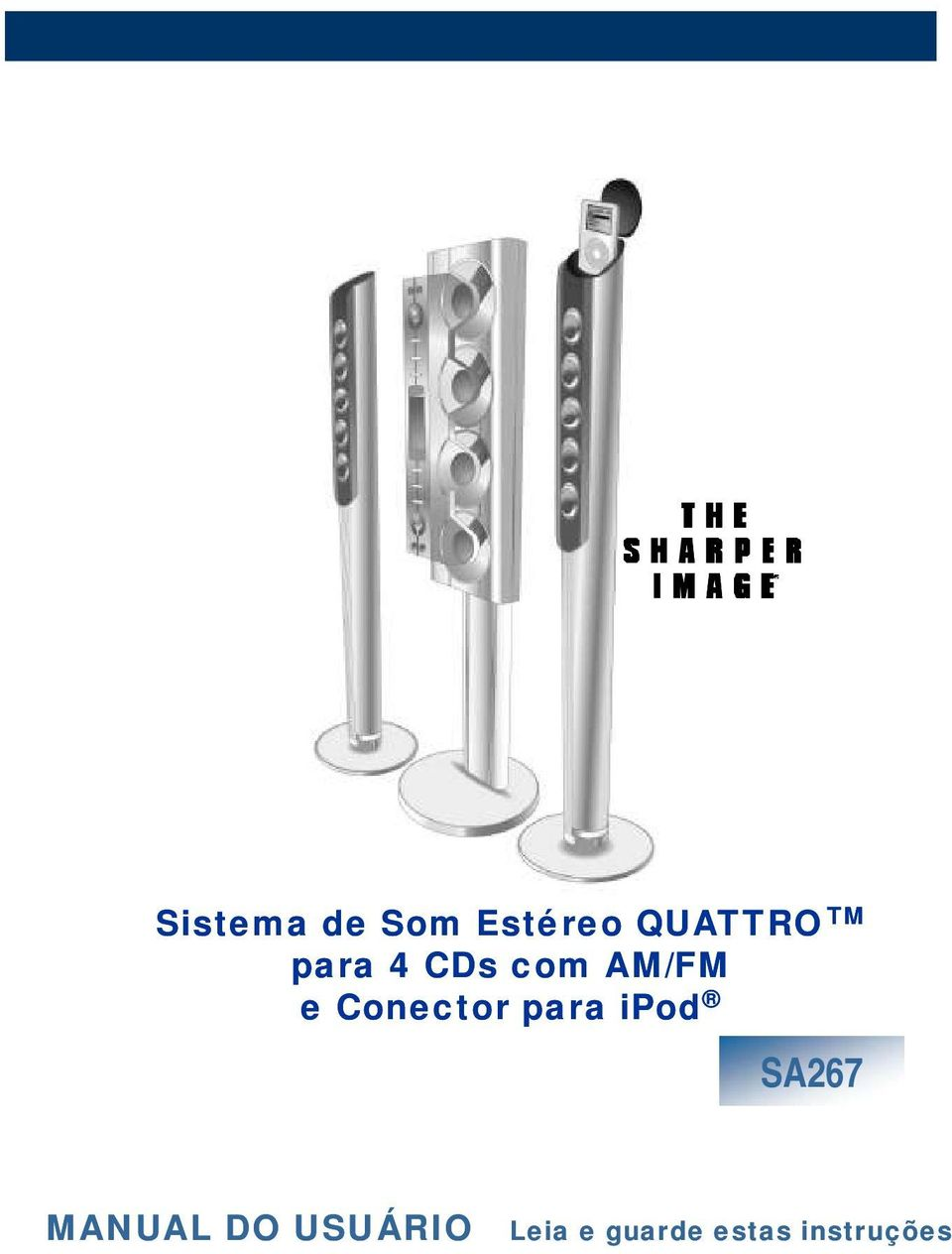 Conector para ipod SA267 MANUAL