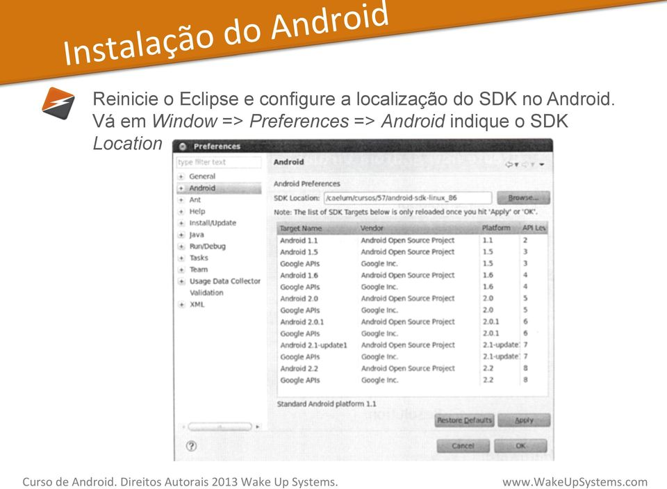 SDK no Android.