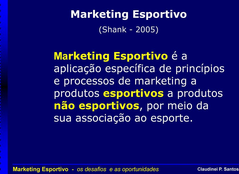 processos de marketing a produtos esportivos a