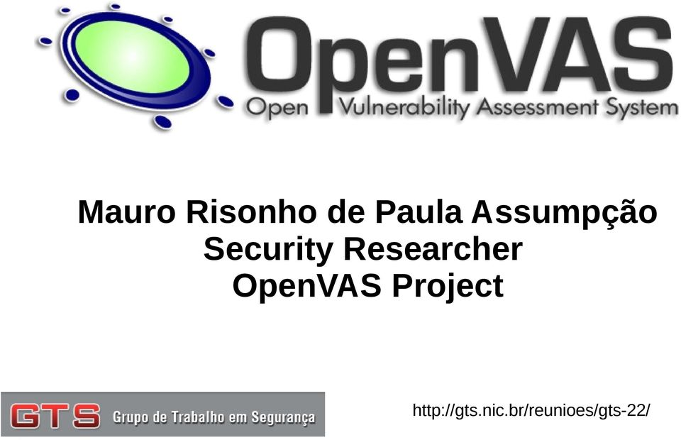 Researcher OpenVAS