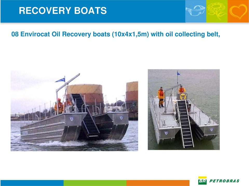Recovery boats