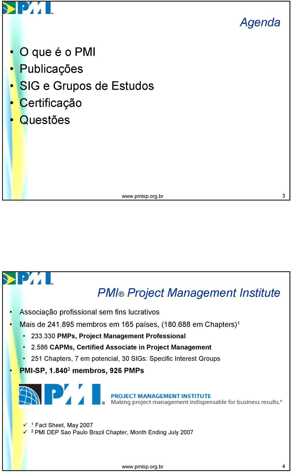 330 PMPs, Project Management Professional 2.
