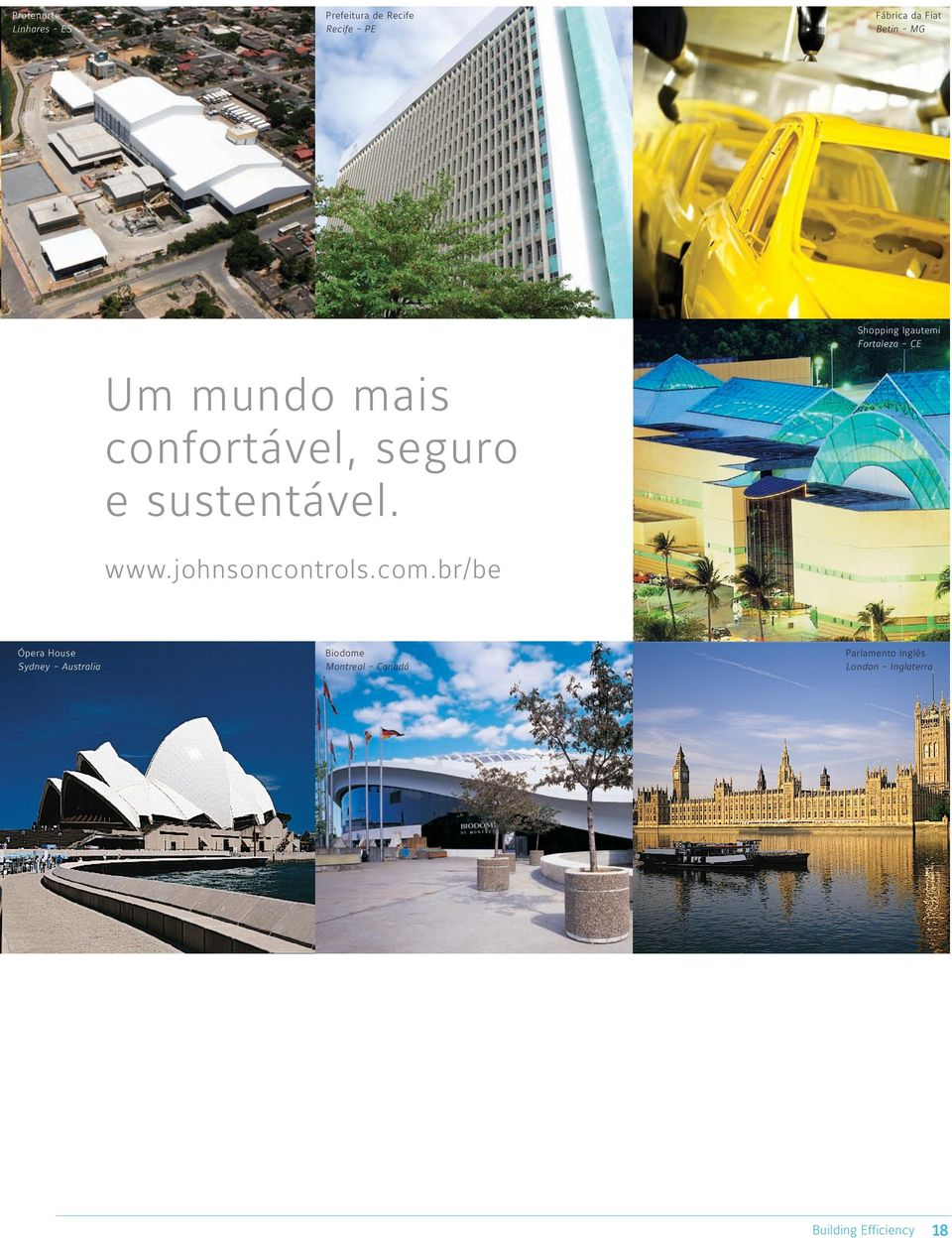 Shopping Igautemi Fortaleza - CE www.johnsoncontrols.com.