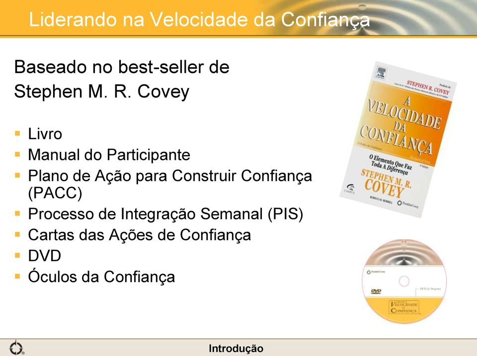 Covey Livro Manual do Participante Plano de Ação para Construir
