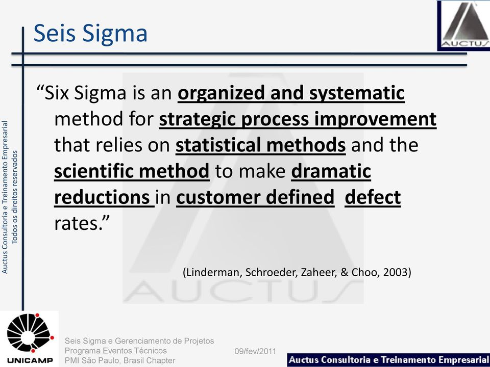 and the scientific method to make dramatic reductions in