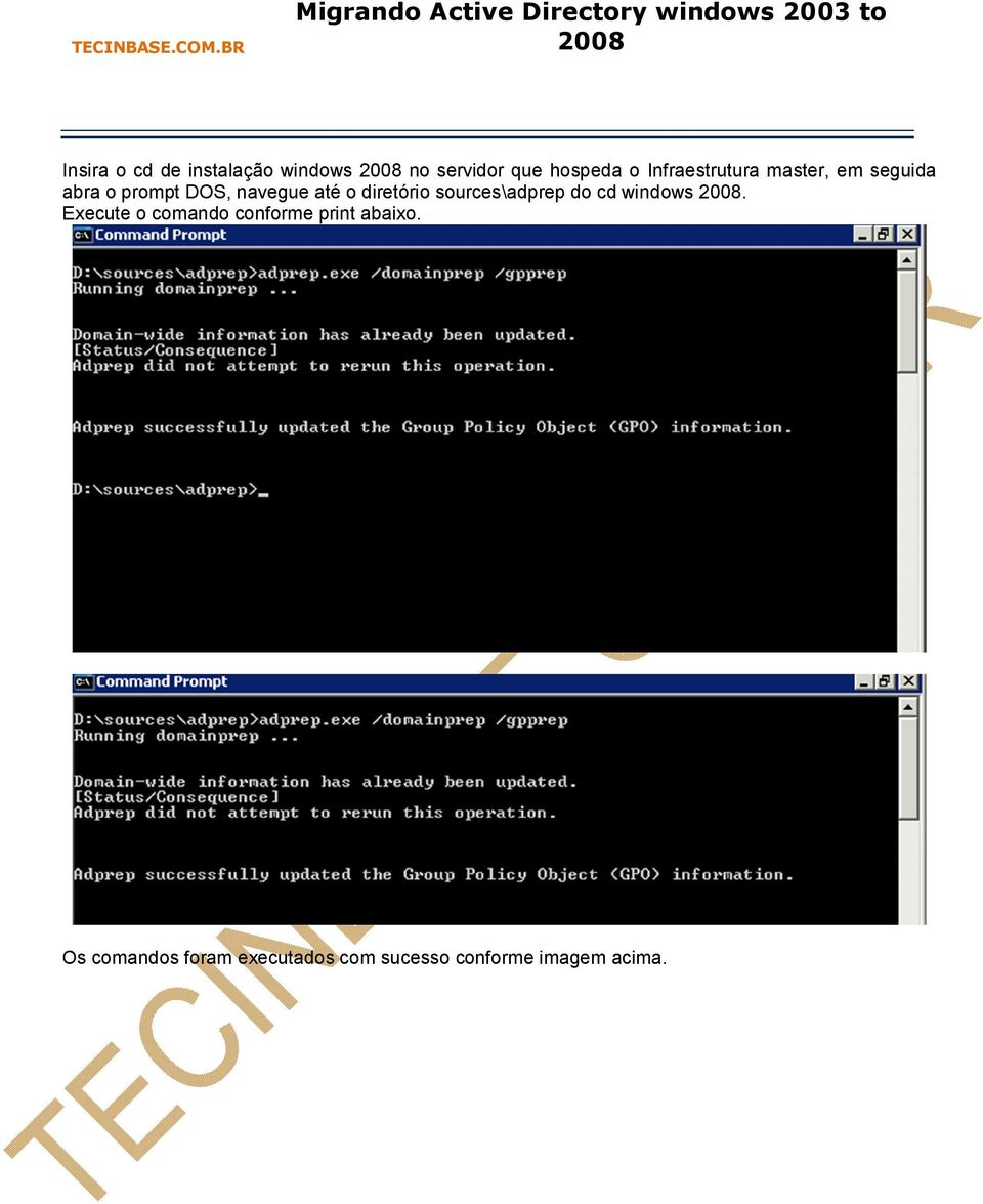 diretório sources\adprep do cd windows.
