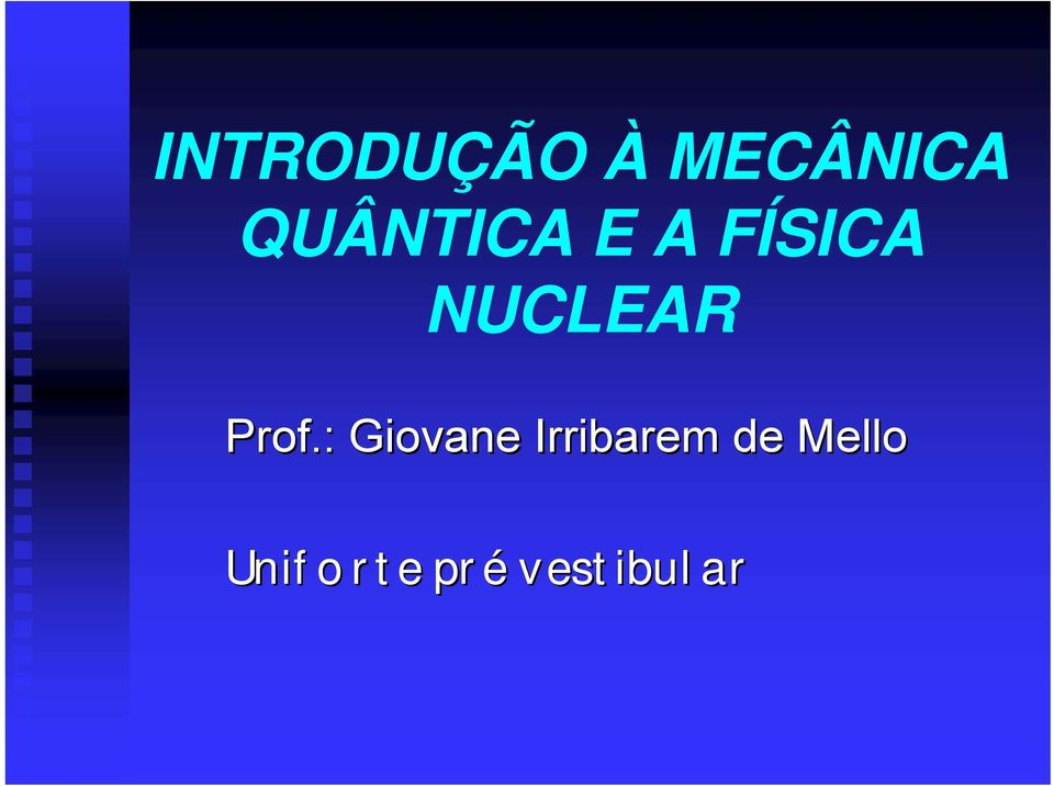 NUCLEAR Prof.
