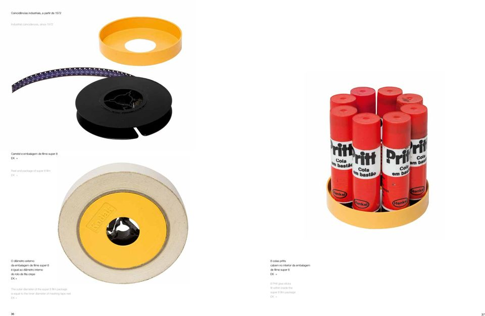 fita crepe + The outer diameter of the super 8 film package is equal to the inner diameter of masking tape reel + 8 colas