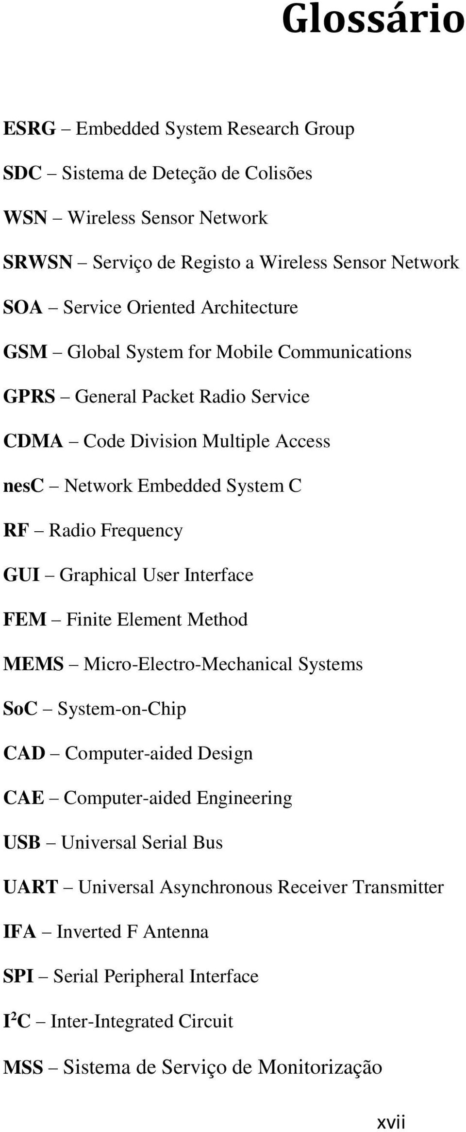 Graphical User Interface FEM Finite Element Method MEMS Micro-Electro-Mechanical Systems SoC System-on-Chip CAD Computer-aided Design CAE Computer-aided Engineering USB Universal