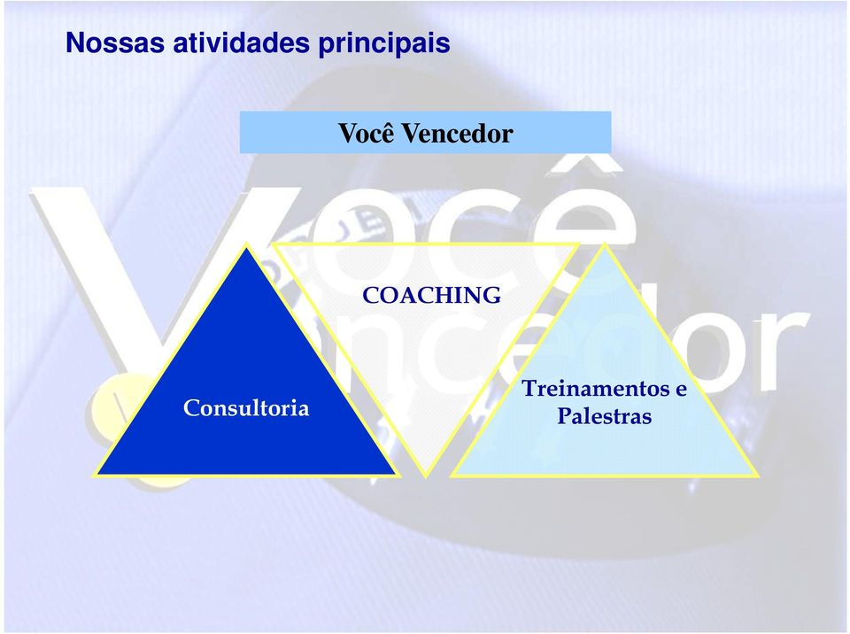Vencedor COACHING