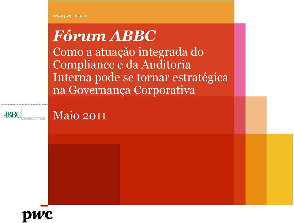 Compliance e da Auditoria Interna