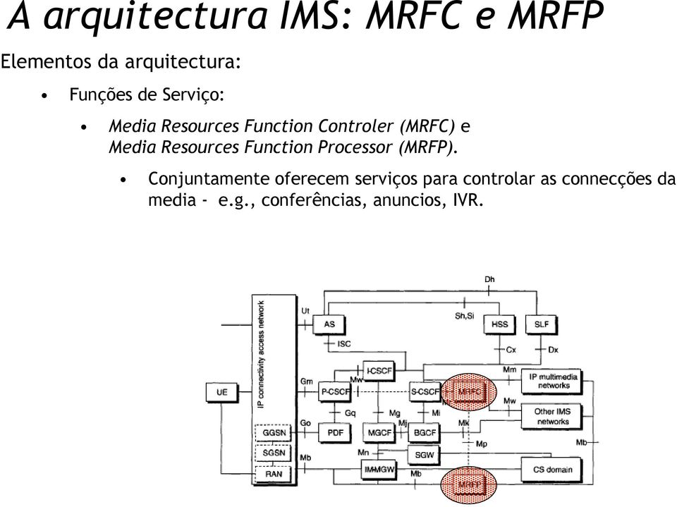 Resources Function Processor (MRFP).