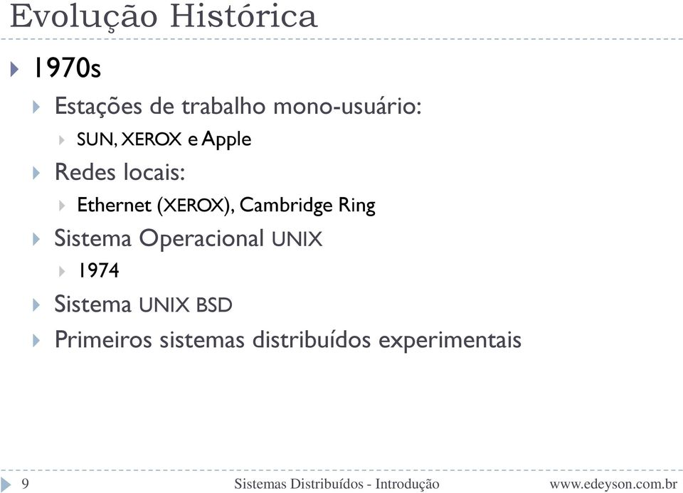 Ethernet (XEROX), Cambridge Ring Sistema Operacional