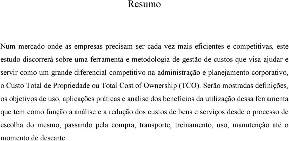 Ownership (TCO).