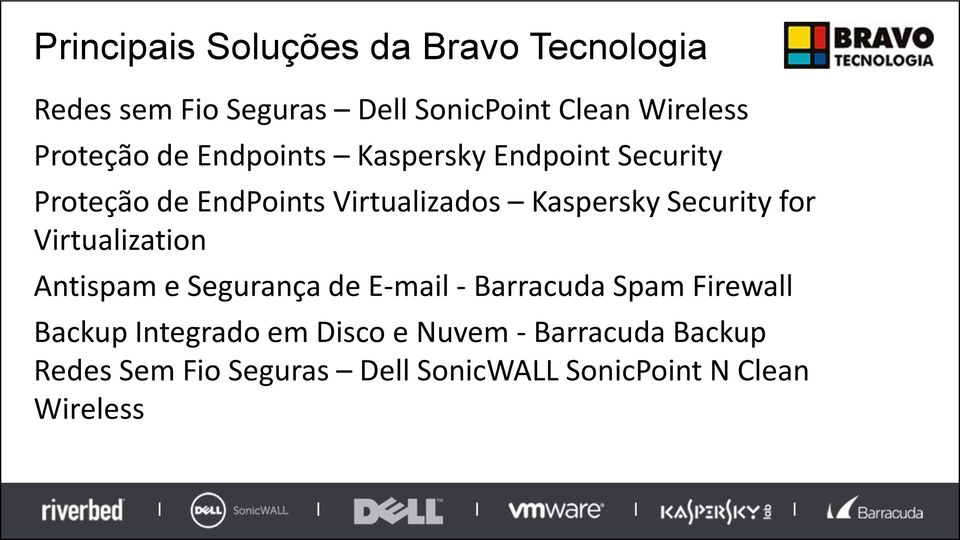 Security for Virtualization Antispam e Segurança de E-mail - Barracuda Spam Firewall Backup