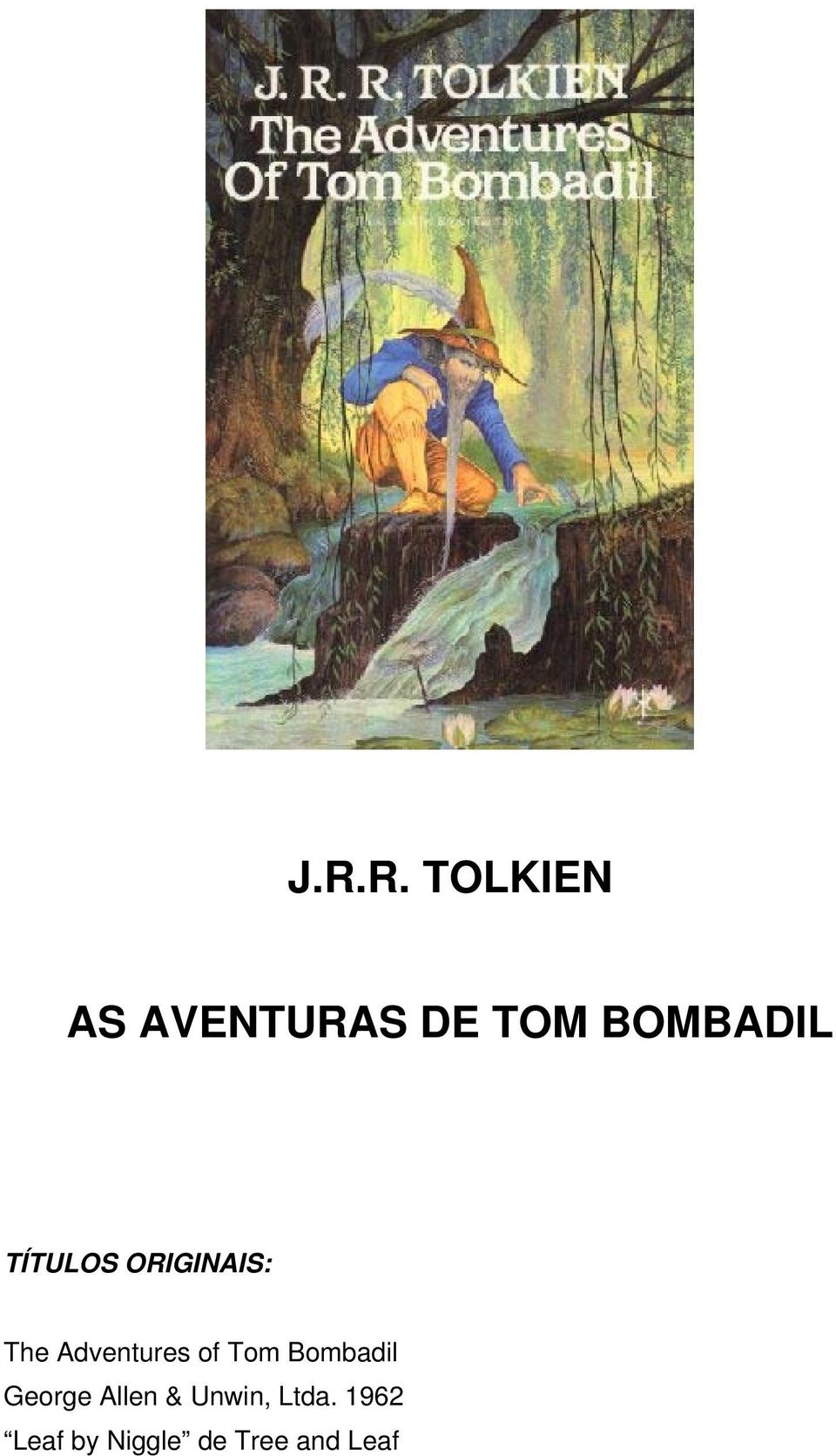 Adventures of Tom Bombadil George Allen